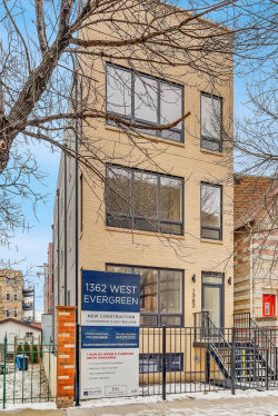 Photo of 1362 W Evergreen Avenue, Unit Number 3, CHICAGO, IL 60642 (MLS # 10251531)