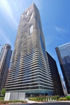 Photo of 225 N Columbus Drive, Unit Number 6101, CHICAGO, IL 60601 (MLS # 10388147)