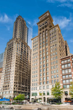 Photo of 6 N Michigan Avenue, Unit Number 1603, CHICAGO, IL 60602 (MLS # 10464126)