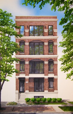 Photo of 733 W Melrose Street, Unit Number 1, Chicago, IL 60657 (MLS # 10553109)