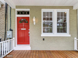 Photo of 604 HAMILTON ST NW, Washington, DC 20011 (MLS # DC10088008)
