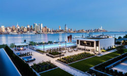 Photo of 1200 AVENUE AT PORT IMPERIAL, Unit 301, Weehawken, NJ 07086 (MLS # 180008773)