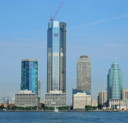 Photo of 99 HUDSON ST, Unit PH7503, Jersey City, NJ 07302 (MLS # 202001076)